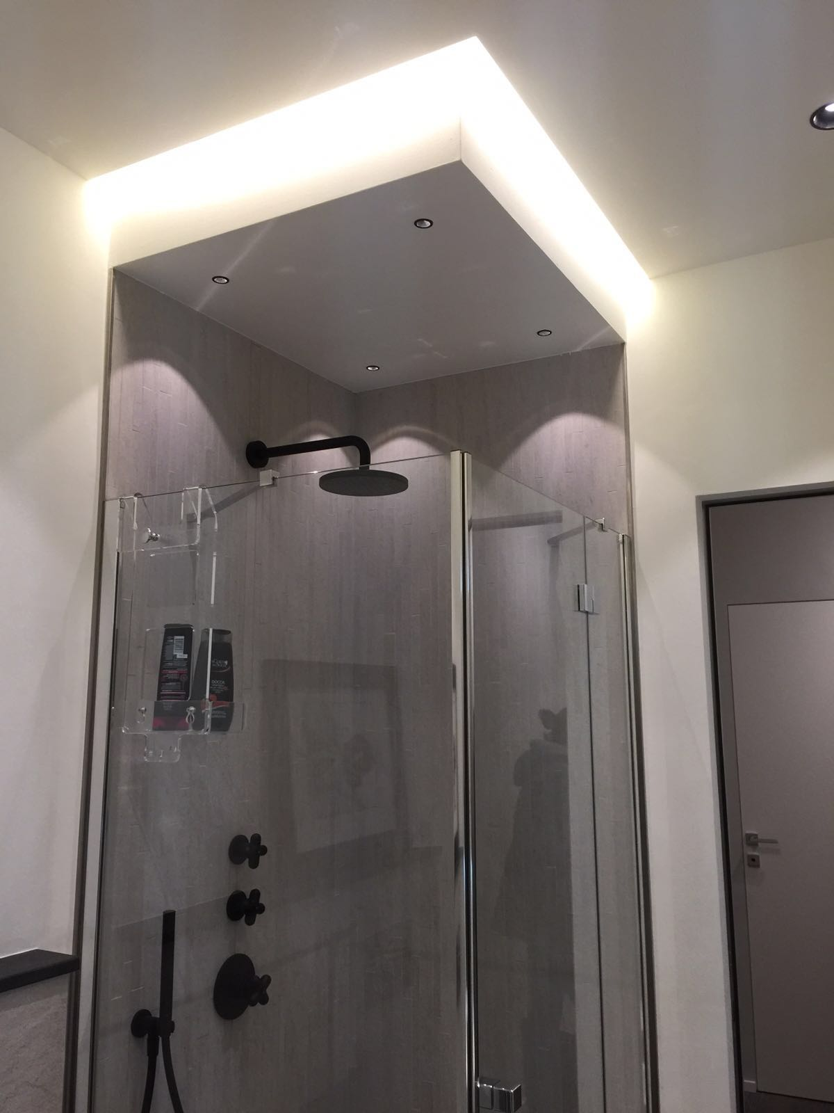 Controsoffittatura zona doccia