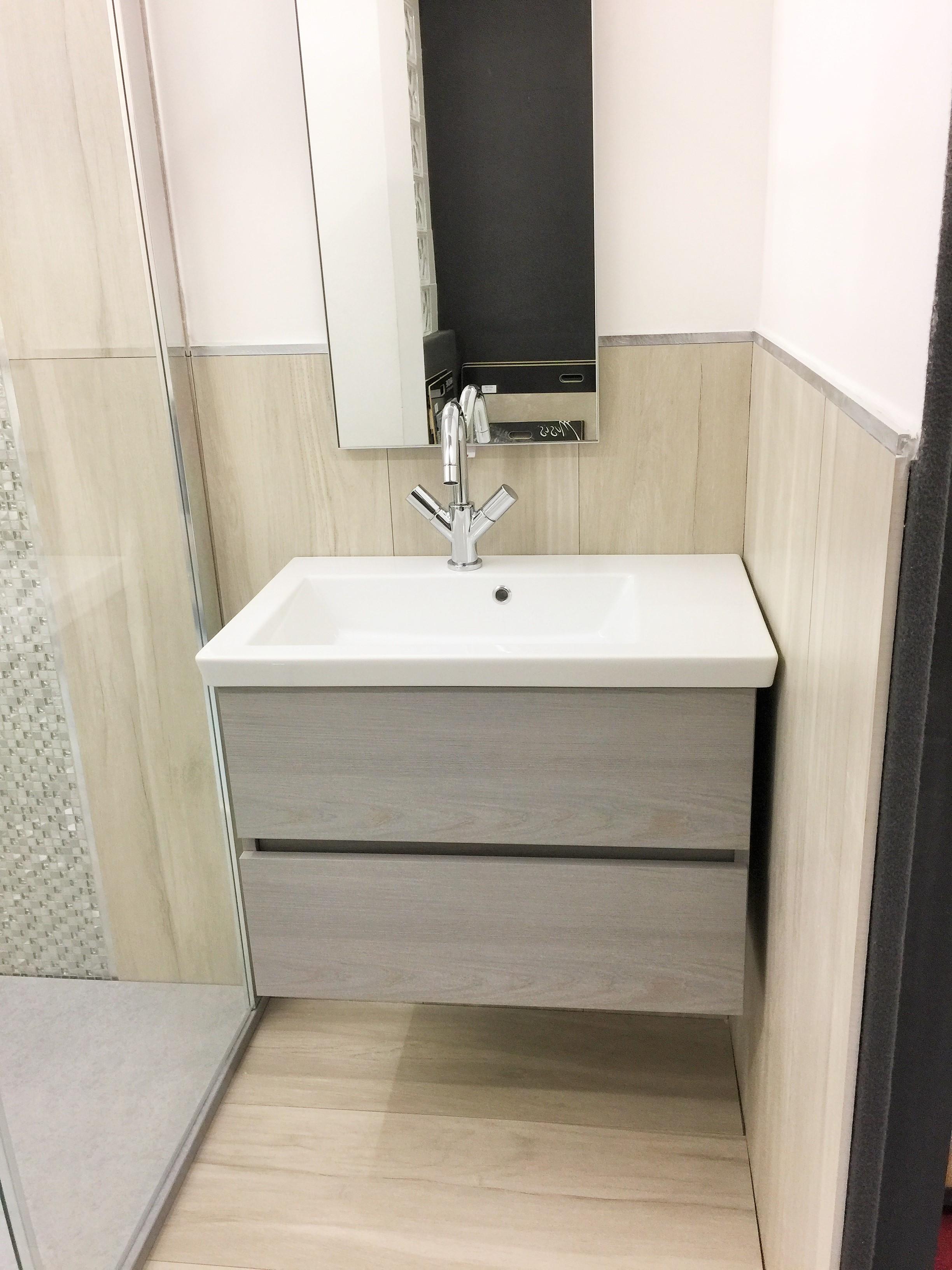 EDILCOM Fancelli – OFFERTA mobile ideale per bagno di piccole dimensioni